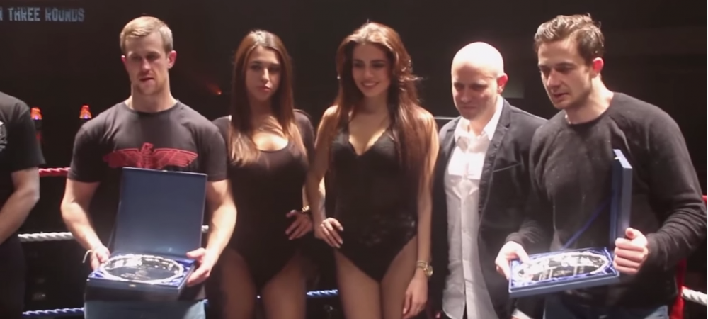 Sampson ring girl jobs gemacht Have