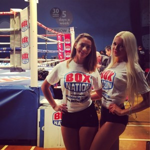 Ring Girls At Queensbury Promotions Boxing – Fight Night