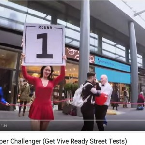 Ring Girl Viral Video Shoot – Spitalfields, London – 9th January