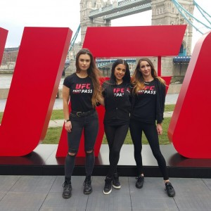 Promo Models – Tower Bridge – Ufc London – 25th Feb 2016
