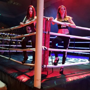 Ring Girls At Roar Combat League – Muay Thai Show – 13th Feb 2016