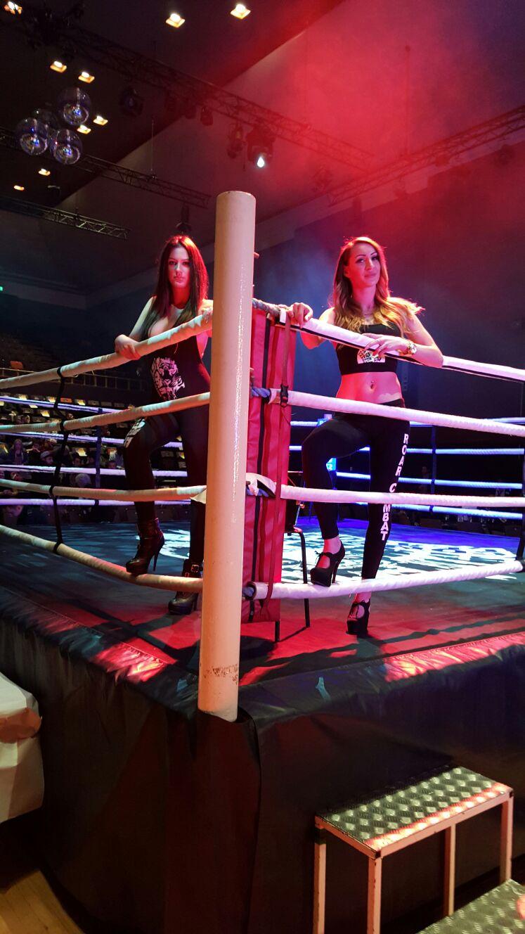 Ring Girls at Roar Combat League – Muay Thai Show – 13th Feb 2016