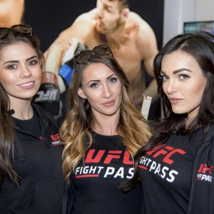 Promo Models – O2 Indigo – Ufc London – 26th Feb 2016