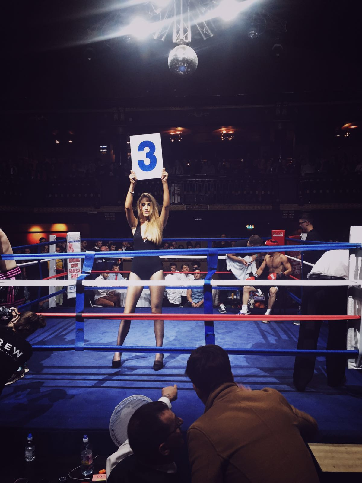 Ring Girl – Manchester Fight Night – 02 Ritz – 26th April 2016