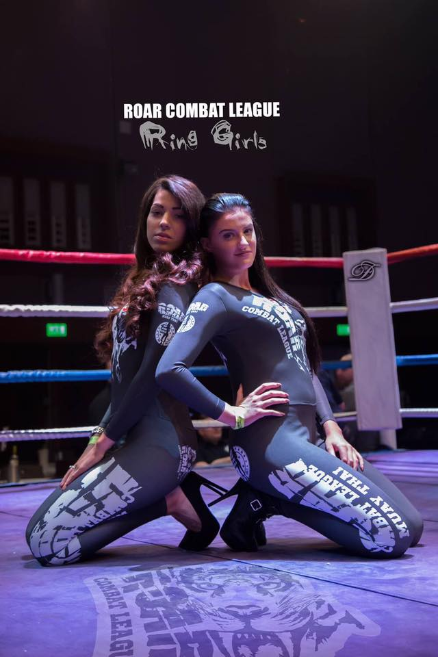 Ring Girls at Roar Combat League – Muay Thai Show – 28th May 2016