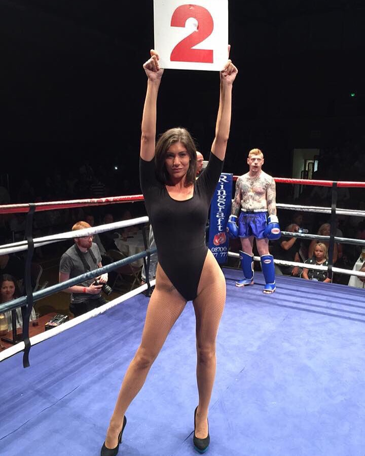 Ring Girls – Muay Tai For Charity – Colchester – 30th July