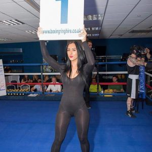 Ring Girls – Shogun Combat Sports – Worcester – 10th September 2016