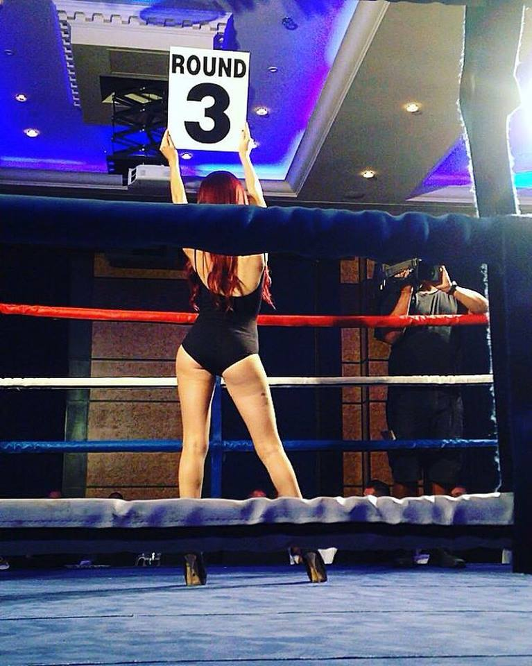 Ring Girls – Private Boxing Event – London – 6th October 2016