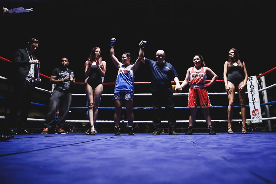 Ring Girl – Fight City Gym – York Hall – 1st December 2016
