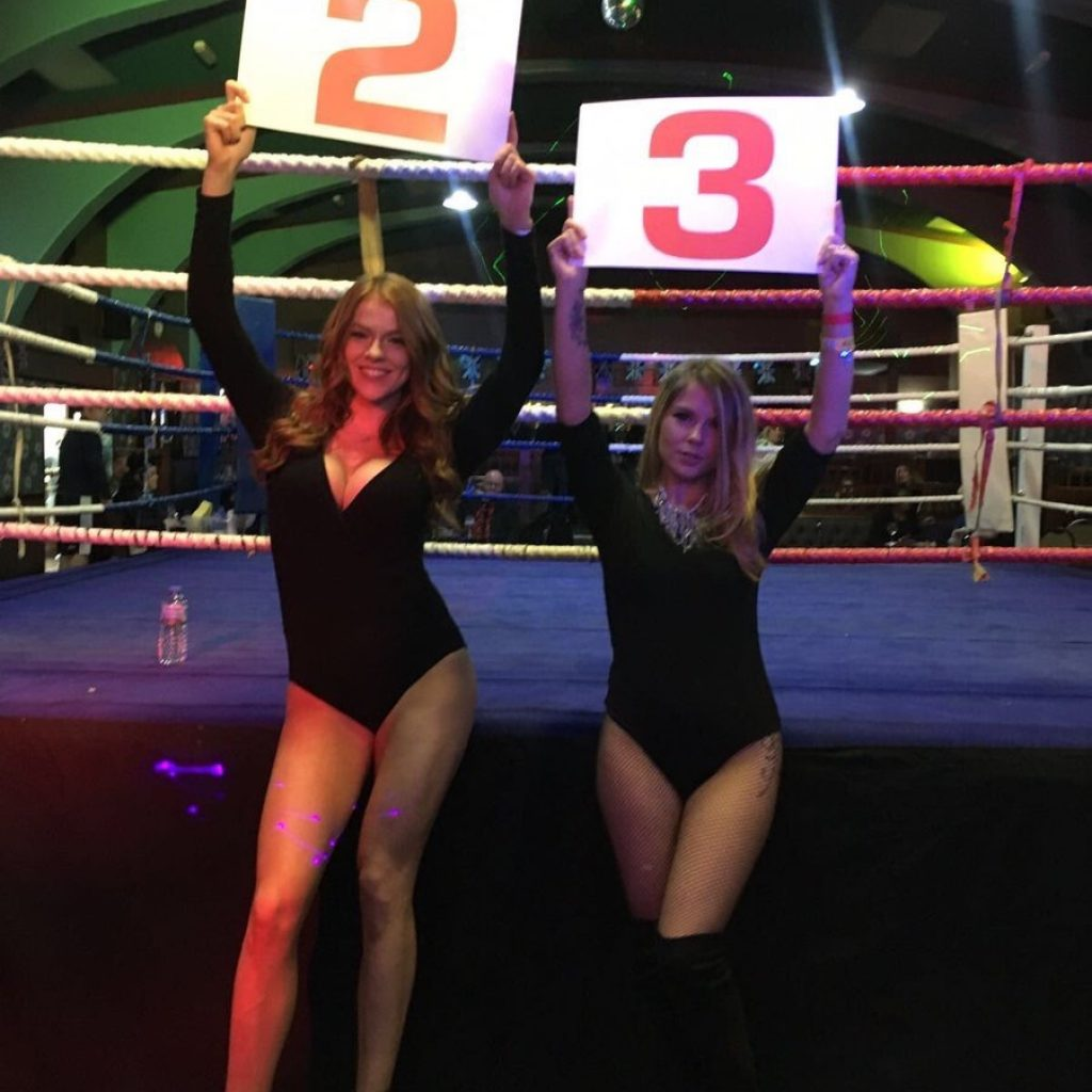 Ring Girls – White Collar Boxing – East Ham – 2nd December 2016