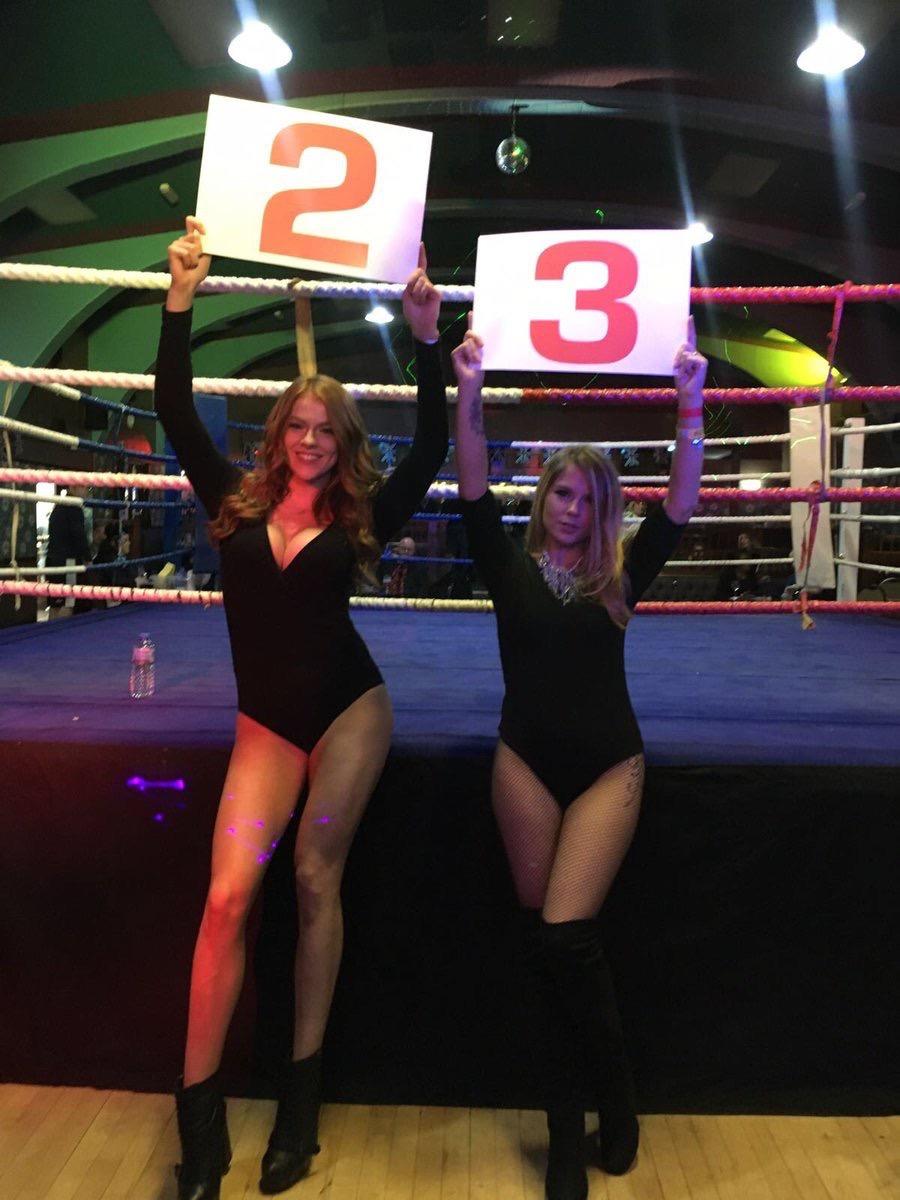 Ring Girls – White Collar Boxing – East Ham – 2nd December 2016