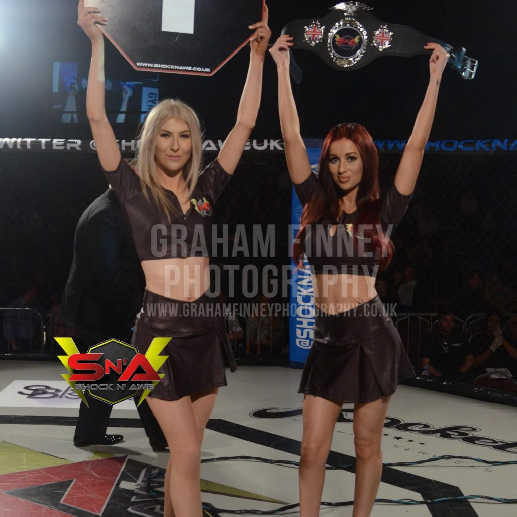 Ring Girls – Shock N' Awe – Portsmouth – 11th March 2017