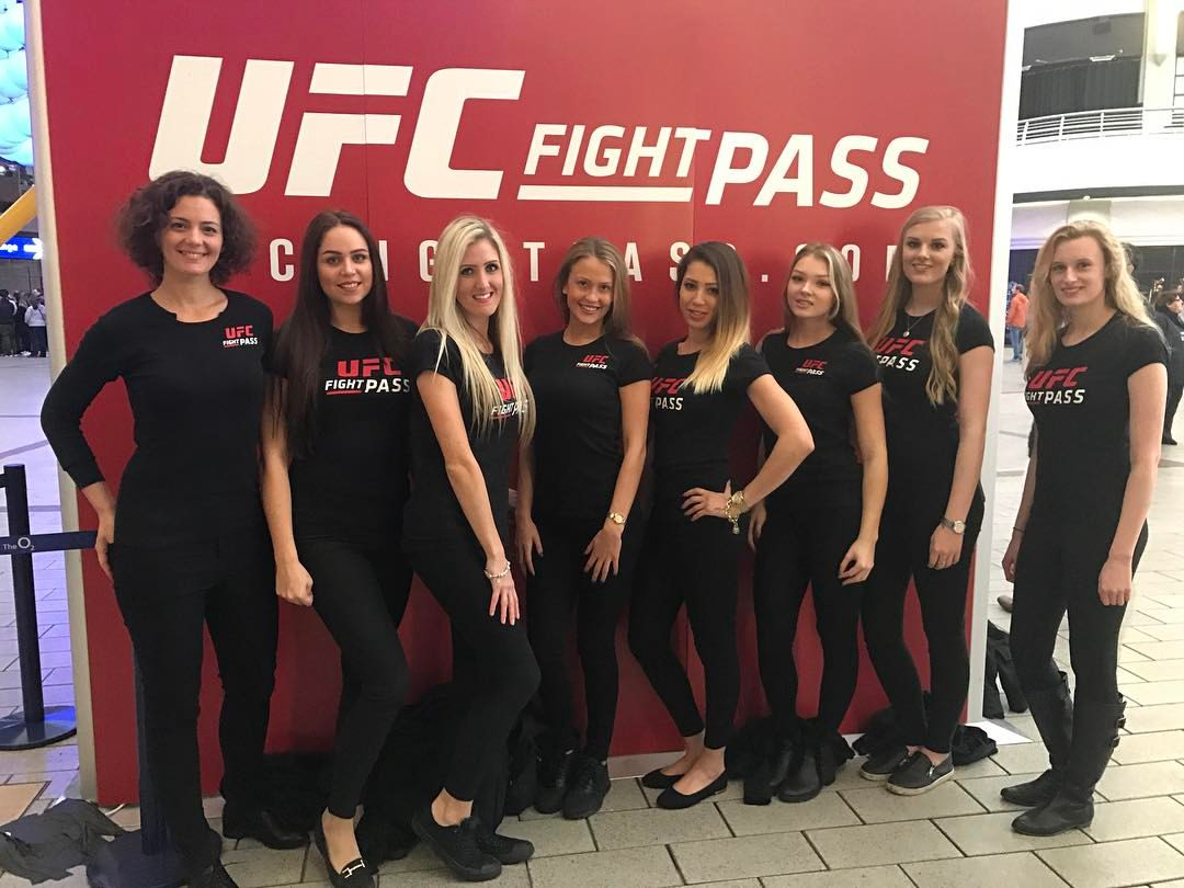 Promo Models – O2 Arena – UFC London – 18th March 2017
