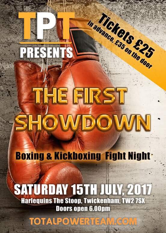 Coming Soon – Total Power Team – The First Showdown – The Stoop – 15th July 2017