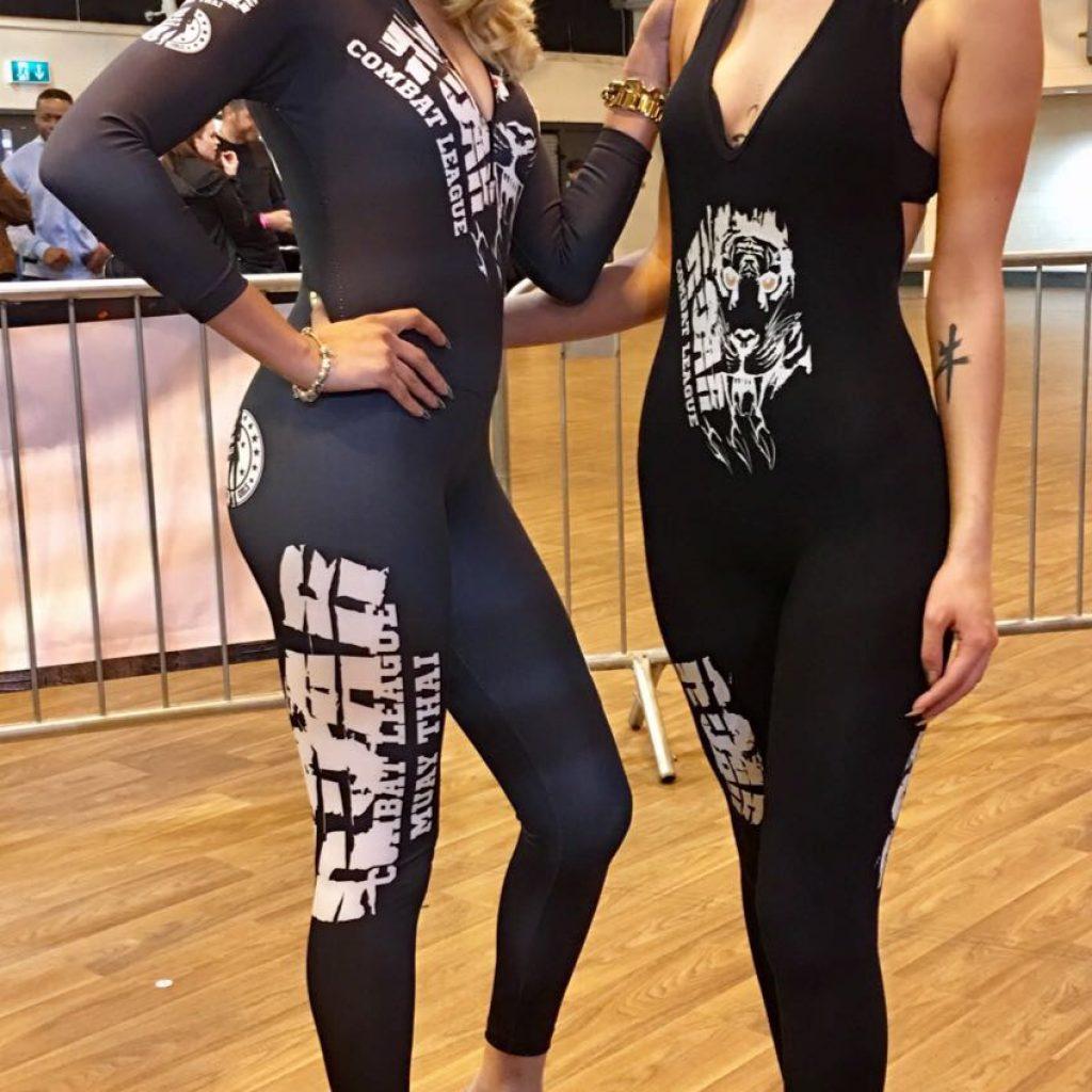 Ring Girls at Roar Combat League – Road 2 Roar Show – 29th April 2017