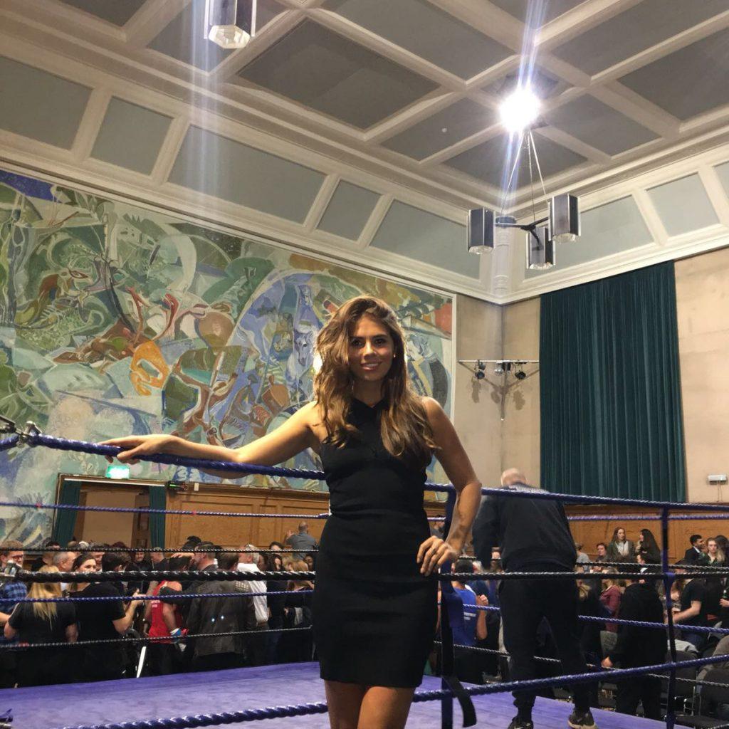 Ring Girls – Workit London – Cecil Sharp House – 9th Nov 2017