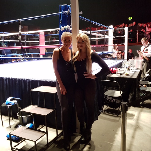 Ring Girls – Fight Club London – The Coronet – 7th December 2017