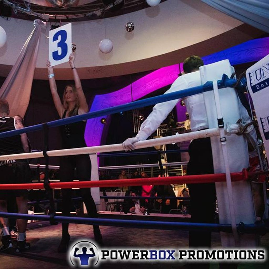 Ring Girls – Powerbox Promotions – Uxbridge – 9th December 2017