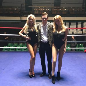 Ring Girl – Fight City Gym – York Hall – 21st March 2018