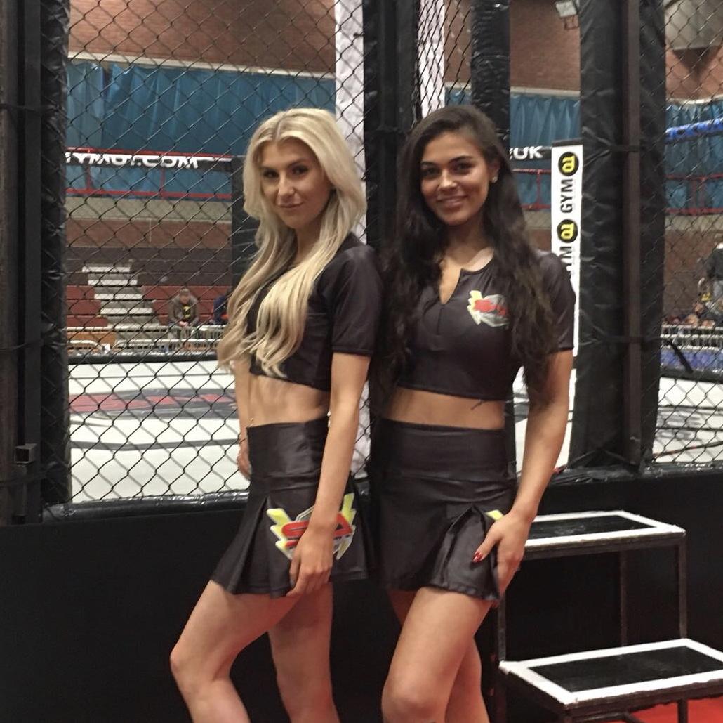 Ring Girls – Shock n Awe 27 – Portsmouth – 28th April 2018