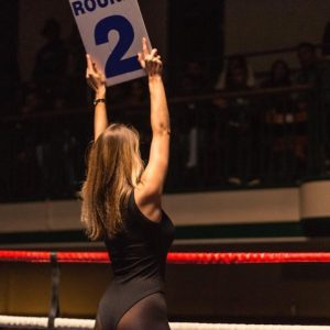 Ring Girls - Boxstar Promotions - York Hall - 2nd Nov 2018