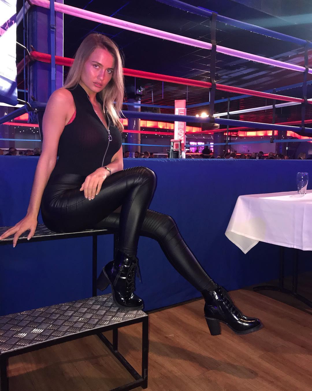 Ring Girls - Private Boxing Event - Butlins, Bognor Regis - 29th November 2018
