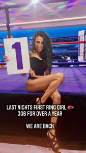 Ring Girl Mayhem in the Midlands Coventry 1st August 2021 01